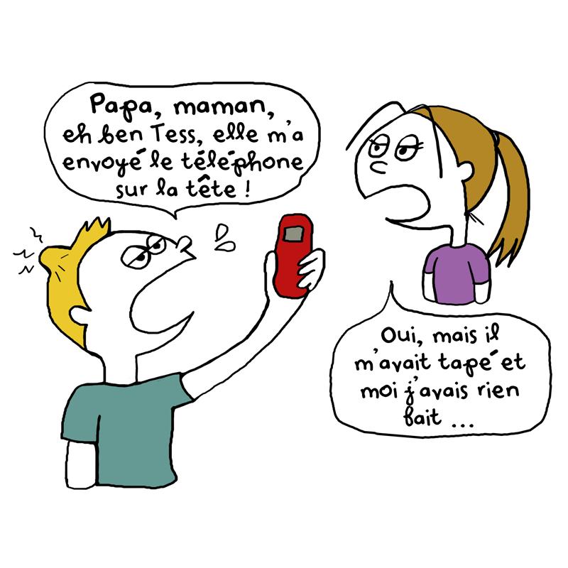 Attention au téléphone !